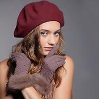 Careforyou® donna moda Solid calda lana invernale classico Autunno cappello