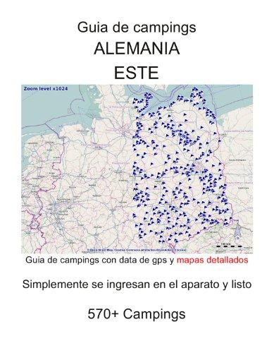 Guia de campings en ALEMANIA DEL ESTE (con data de gps y mapas detallados) por m lab