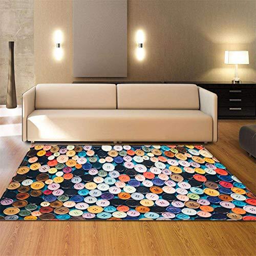 Alfombra Pequeña Pelota-Shaggy Carpet For Living Room Home Alfombras De Piso De Felpa Caliente Alfombras...