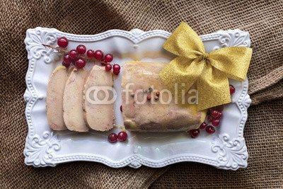 Sur Jute (druck-shop24 Wunschmotiv: foie gras tranché sur toile de jute #121710359 - Bild als Foto-Poster - 3:2-60 x 40 cm/40 x 60 cm)