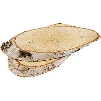 10 stk holzscheiben oval 20cm baumscheiben holz scheiben birke baum scheibe basteln. Black Bedroom Furniture Sets. Home Design Ideas