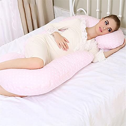 multifunción cómodo masaje lumbar Las mujeres embarazadas almohada En forma de U almohada Cuerpo Almohada corporal Las almohadas sheeping cojín de lactancia lado a dormir almohada El embarazo Maternidad Mujeres embarazadas Almohada para dormir y