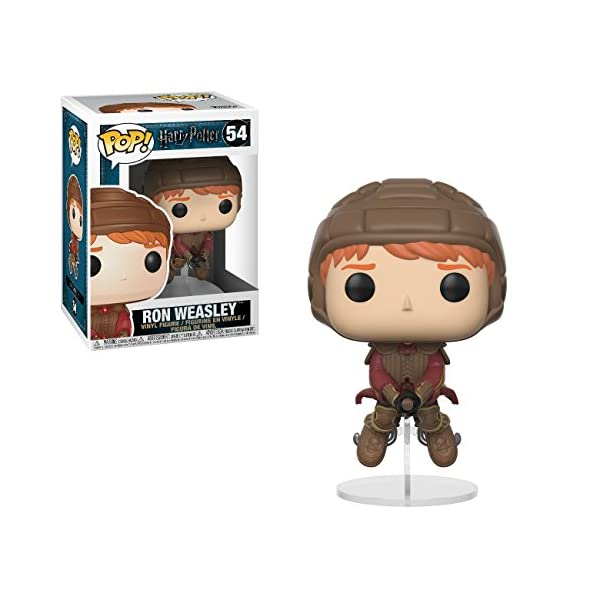 Funko Pop Ron montado en escoba / Quidditch (Harry Potter 54) Funko Pop Harry Potter