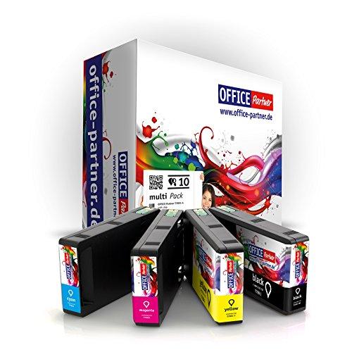 Multipack 10 Cartucce di inchiostro compatibile con Epson T7891-T7894 con CHIP per WorkForce Pro WF-4600 Series WF-4630 DWF WF-4640 DTWF WF-5100 Series WF-5110 DW WF-5190 DW WF-5600 Series WF 5620 DWF WF-5690 DWF