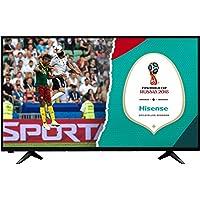 HISENSE H43AE5000 TV LED Full HD, Natural Colour Enhancer, Clean Sound 14W, Motion Picture Enhancer, Tuner DVB-T2/S2 HEVC, 2 HDMI, 1 USB Media Player prezzi su tvhomecinemaprezzi.eu