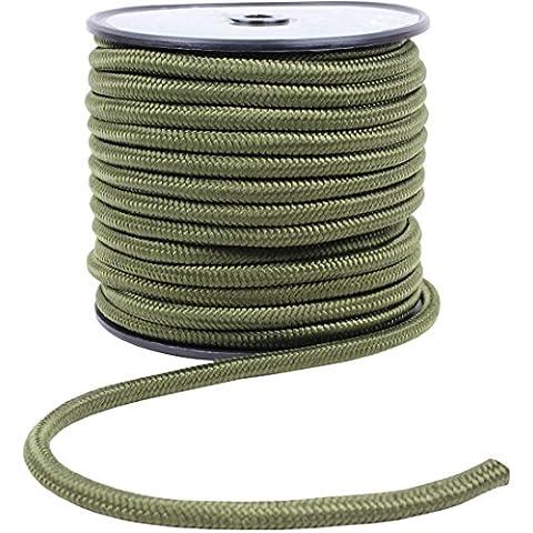 noorsk - Corda di sopravvivenza universale, in nylon, 3 taglie 2 colori, Verde (oliva), 7x50 - 50 Verde Oliva