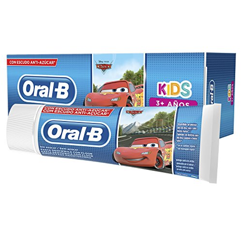Oral-B Kids Frozen Pasta Dentífrica, 3+ Años, 75ml, 6 Unidades