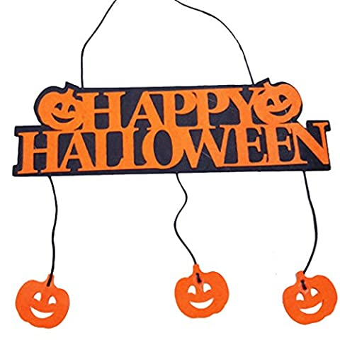 Décorations Halloween, OUTGEEK Wall Hanging Plaque Party KTV Home Decor