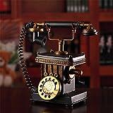 Europäische Vintage altes Metall Handwerk Café altmodische Telefon Dekoration die kreativen Dekorationen bar