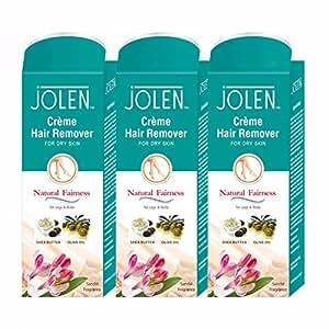 Jolen Hair Removal Cream - Sandal (Pack of 3) 150gm