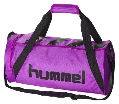 Hummel Stay Authentic Sports Tasche XS, schwarz/rot, 40,5 x 16,5 x 21 cm, 40-909-2230 Purple Cactus/Black