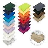 Exklusiv-Heimtextil Drap-housse en tissu éponge élastique, disponible en...