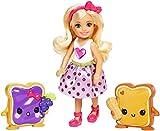 Mattel FDJ09 - Chelsea und Seine Freunde mit Zubehör - Barbie, Mehrfarbig (Matel FDJ09)