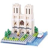 Nanoblock, cattedrale di Notrre Dame (NAN-NBH093)