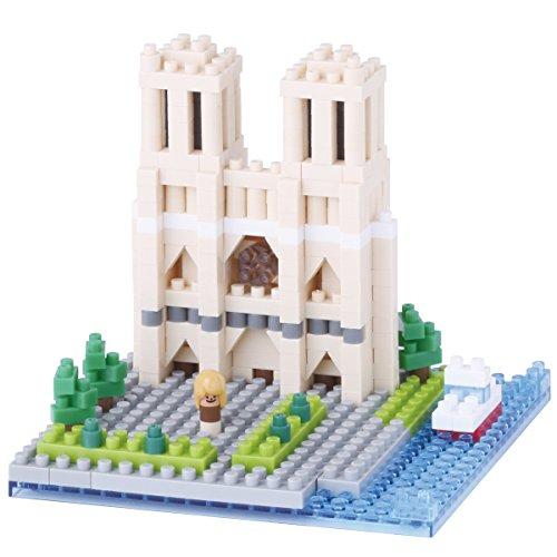 Nanoblock - NBH-093 - Cathédrale Notre Dame de Paris - 400 pièces
