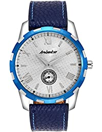 Armbandsur Silver dial small second hand watch -ABS0036MBS