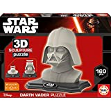 3D Sculpture - Puzzle con diseño Darth Vader (Educa Borras 16500)