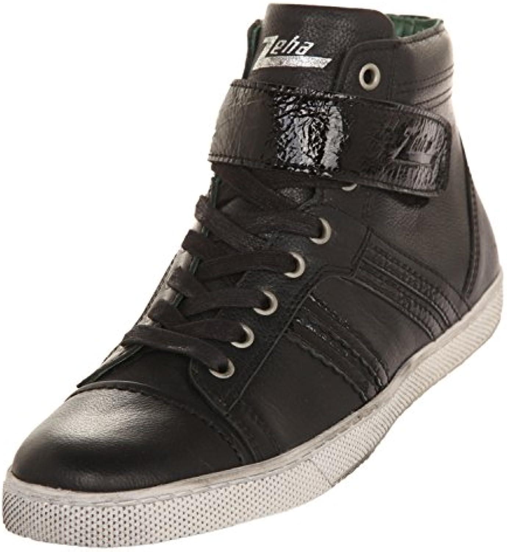 Zeha Herren Sneakers Sneaker High Cut Black Uni 902.04