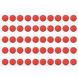 50pcs Ronda Bola de bala Recambio compatible reemplazar munición para...