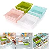 PGS Multipurpose Compact Fridge Pull-out Drawer Organizer Kitchen Shelf Rack,1 Pc (ABS Material) Color May Vary