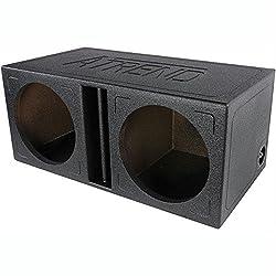 Atrend Tl-12dv Atrend Series 12-inch Dual Slammer Vented Divided Enclosure