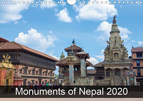 Monuments of Nepal 2020 (Wall Calendar 2020 DIN A4 Landscape): The best photos from Wiki Loves Monuments, the world's largest photo competition on ... calendar, 14 pages ) (Calvendo Places)