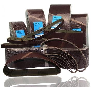 100 150 180 80 5, K60 Arebos Schleifband 75 x 510 mm//K/örnung 40 240 120 60 20 oder 50 St/ück 320 oder 400//5 10