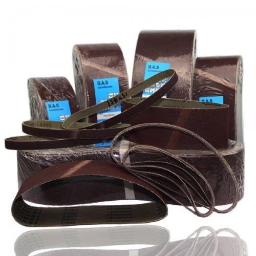 Preisvergleich Produktbild 10 Stück Schleifbänder 75 x 533 mm,P 40 f. Festool,Metabo,Makita