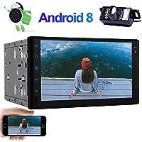 EinCar Android 8.1 estéreo radio de coche de apoyo Jefe Unidad de navegador GPS Doble Din