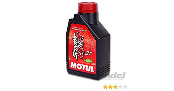 Motul 2 Takt Öl Scooter Expert 2t Teilsynth 1 Liter Sport Freizeit