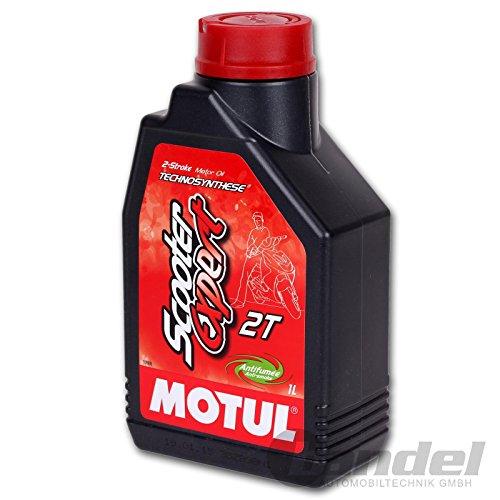 Preisvergleich Produktbild MOTOR OEL MOTUL 1L - 714.01.23 - Motul Scooter Expert 2T ist ein teilsynthetisches Motorenöl -