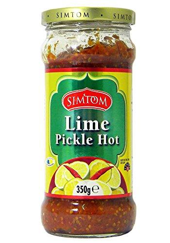 Simtom - Pickles épicés de citron vert - 2 bocaux de 350 g