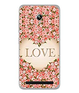 Fuson Designer Back Case Cover for Asus Zenfone Go ZC500TG (5 Inches) (Loving Relation Family Friend Couple)