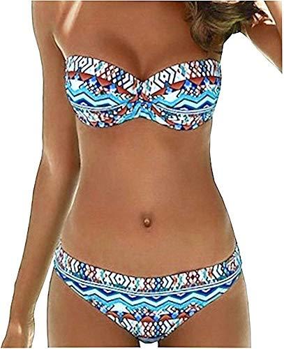 Sunflair Damen Bikini Set Paper Art (42C, türkis)