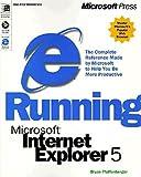 Running Microsoft Internet Explorer 5