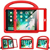 Surom Kids Case for New iPad 9.7 2018/2017 with Built-in...