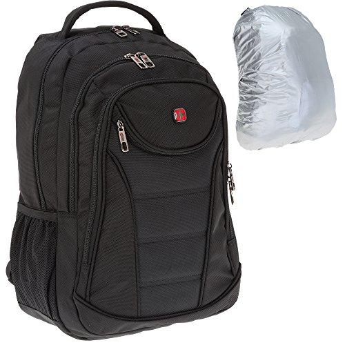 NEW BAGS Rucksack PRO GLIDER Laptoprucksack Schwarz +R (Ipad Glider)
