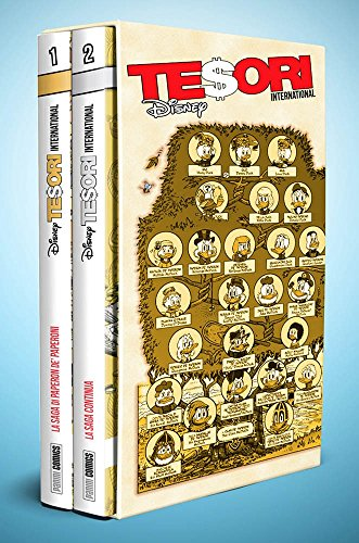 La saga di Paperon de' Paperoni di Don Rosa - Cofanetto Tesori International