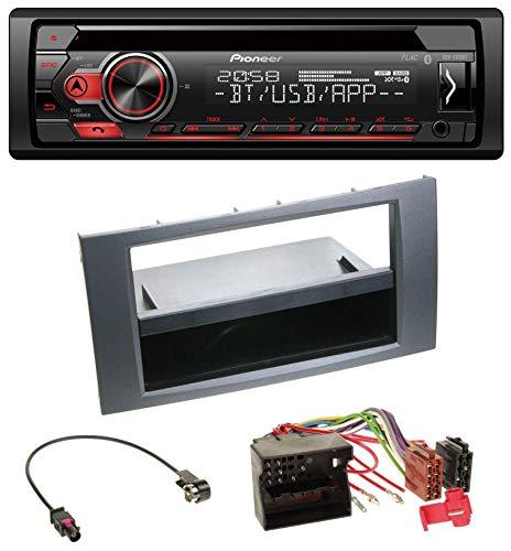 EH-S310BT Bluetooth MP3 CD USB AUX Autoradio für Ford Fusion Kuga Transit 05-12 anthrazit ()