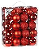 Inge-glas 770203-MO Kunststoff-Kugelbox 50 teilig, 18 x 4 und 32 x 6 cm, rot