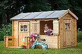 Spielhaus Fun Park - 2,35 x 1,75 Meter aus 19mm Blockbohlen