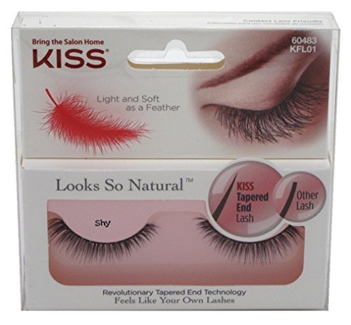Kiss Looks So Natural Lashes Shy (3 Pack) by Kiss