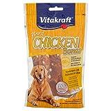 Vitakraft Chicken Bonas Kaustangen für Hund, Geschmak Huhn/Käse, 80g