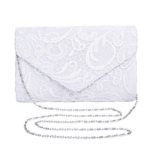 Bolso de boda (Blanco)
