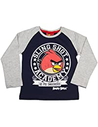 Officiel Angry Birds pour garçon à manches longues Age 4,6,8,10ans
