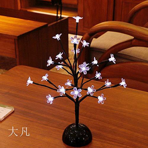 Romantische Kirschbaumlichter Weihnachtslichter LED-Hauptlichter dekorative Lichter Geschenkbaumlichter