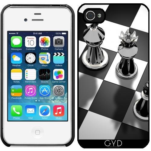 Leder Flip Case Tasche Hülle für Apple iPhone 5C - Schach Spiel König by WonderfulDreamPicture Starre Kunststoff