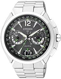 Citizen Herren-Armbanduhr XL Analog Quarz Edelstahl CC1090-52F