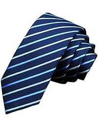 EOZY Cravate Homme Slim Imprimé Classique Cravate Soirée Business Mariage