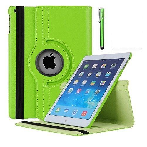 MEIJIE iPad Mini Fall 360Grad Drehbar Ständer Schutzhülle Sleep/Wake Funktion für 20,1cm Schutzhülle für Apple iPad Mini 1/iPad Mini 2Fall/iPad Mini 3Fall Grün